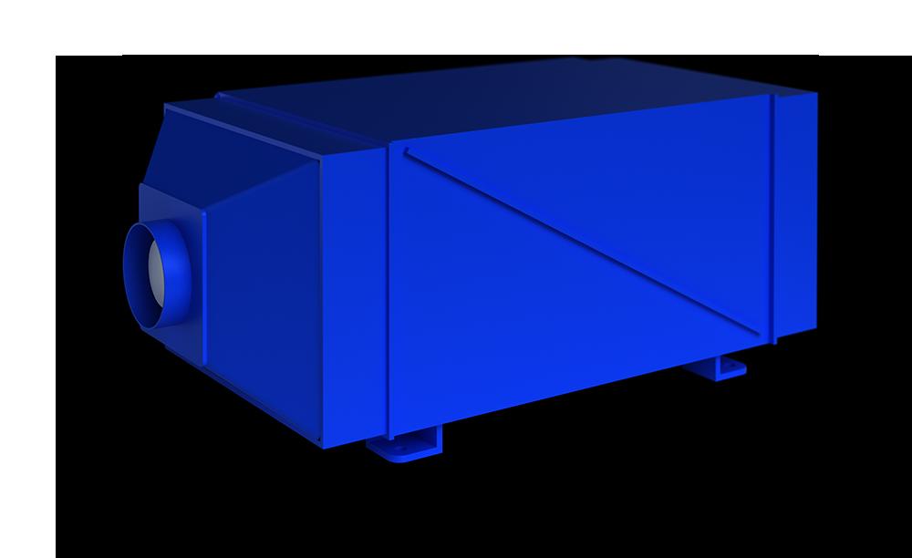 Фильтр ЛЕГЕНД С со встроенным вентилятором и без вентилятора