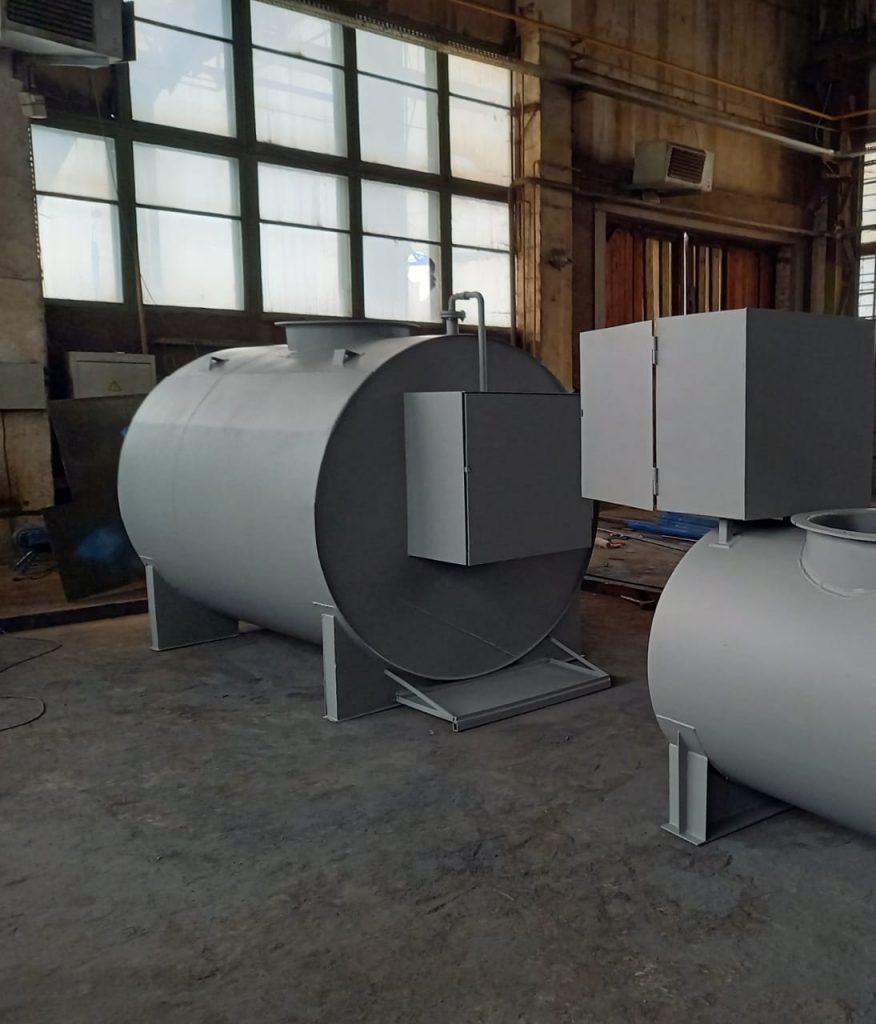 Резервуары для отработанного масла, нефтепродуктов и топлива