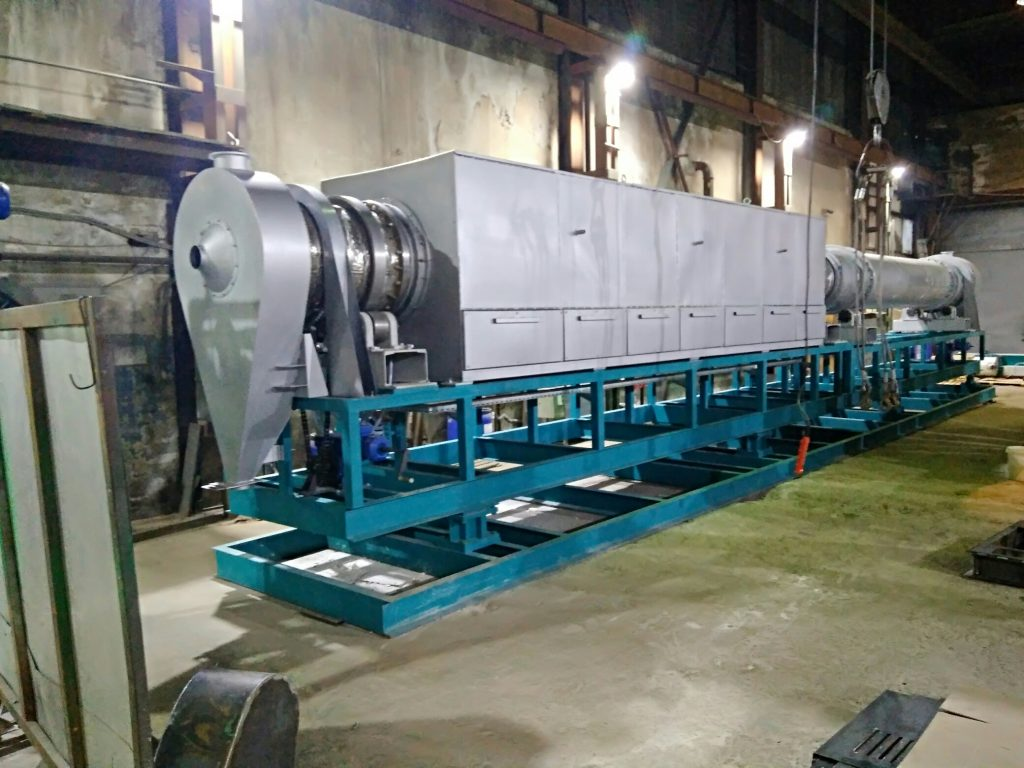 Агрегатные установки на основе вращающихся печей