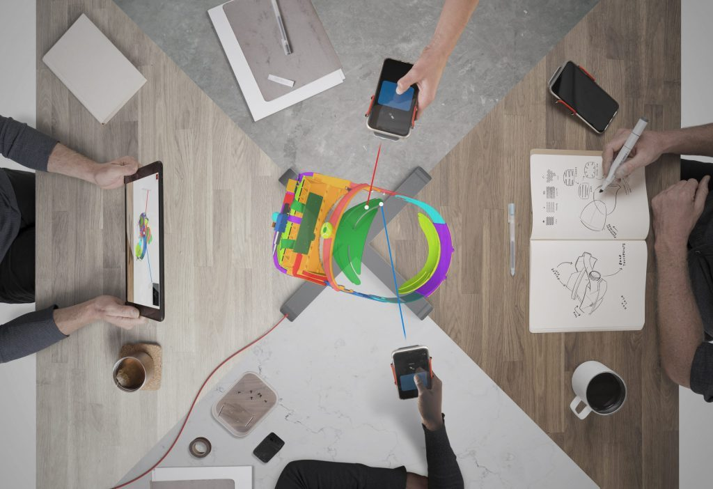 Запуск голографической 3D-системы