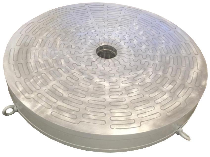 Плиты электромагнитные прямоугольные и круглые
