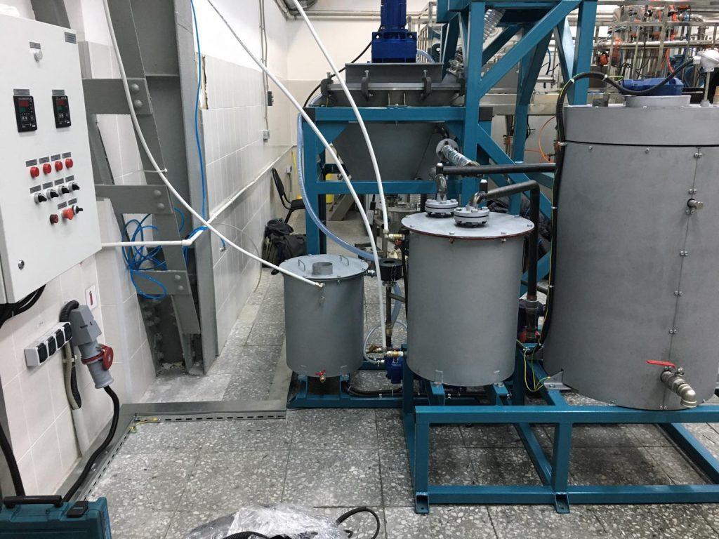 Система сушки металлического порошка в вакууме